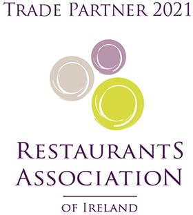 Carraig Linen Trade Partner 2021 at Restaurant Association in Ireland